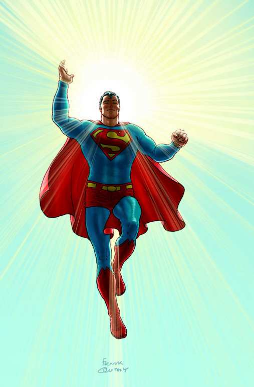 ALL STAR SUPERMAN ART COVER