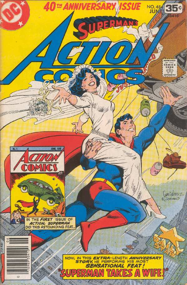 ACTION COMICS 40TH ANNIVERSARY