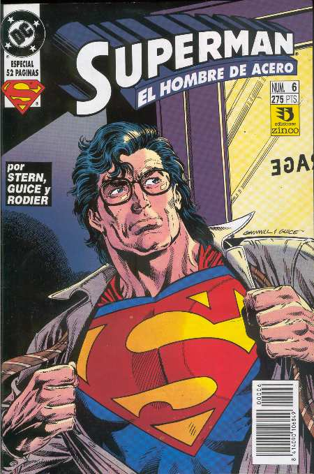 ACTION COMICS #692 POR EDICIONES ZINCO?