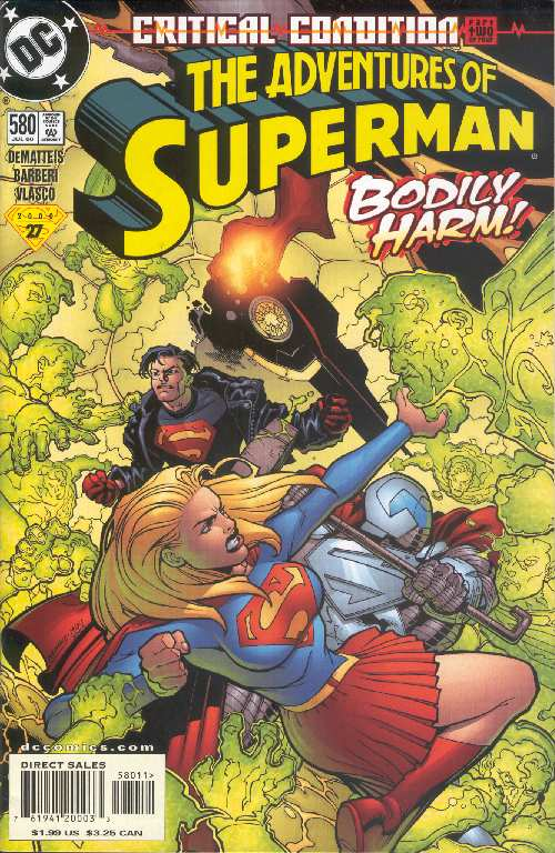 THE ADVENTURES OF SUPERMAN #580