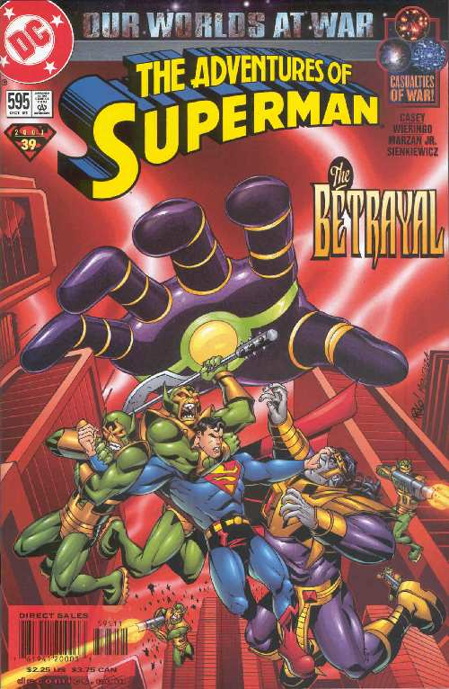 ADVENTURES OF SUPERMAN #595