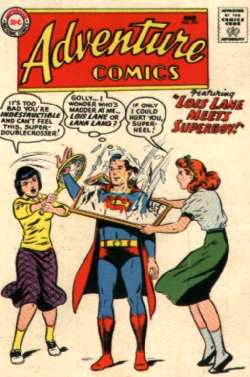SUPERBOY, LANA AND LOIS