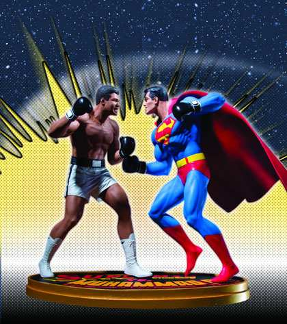 SUPERMAN VS. MOHAMED ALI