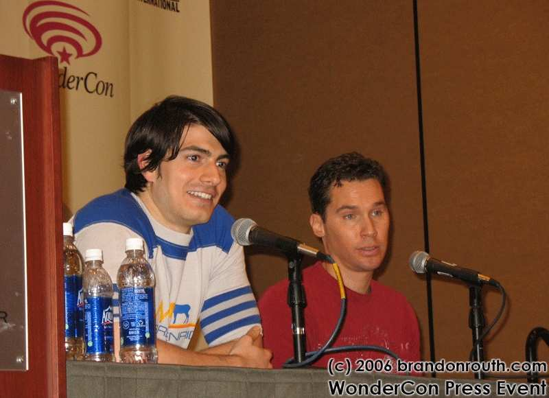 BRANDON ROUTH Y BRYAN SINGER