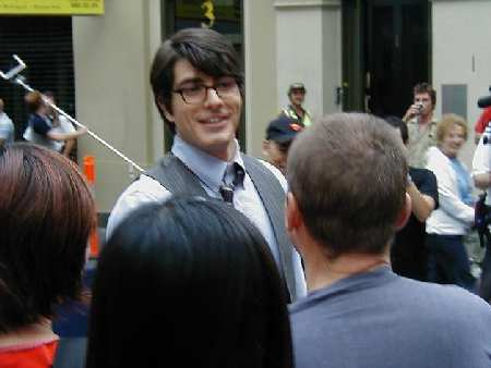 BRANDON ROUTH Y FANS