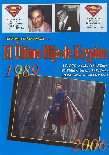 SUPERMAN RETURNS EN CINEMACOMICS 4