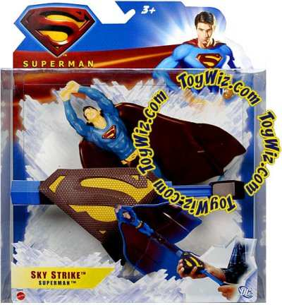 SUPERMAN RETURNS ACTION FIGURES