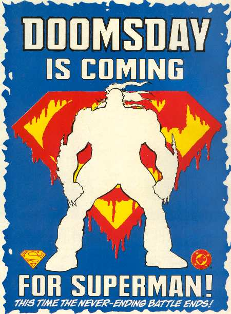 DOOMSDAY IS COMNIG