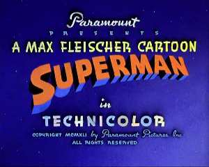 SUPERMAN FLEISCHER CARTOON
