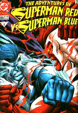 THE ADVENTURES OF SUPERMAN RED/SUPERMAN BLUE