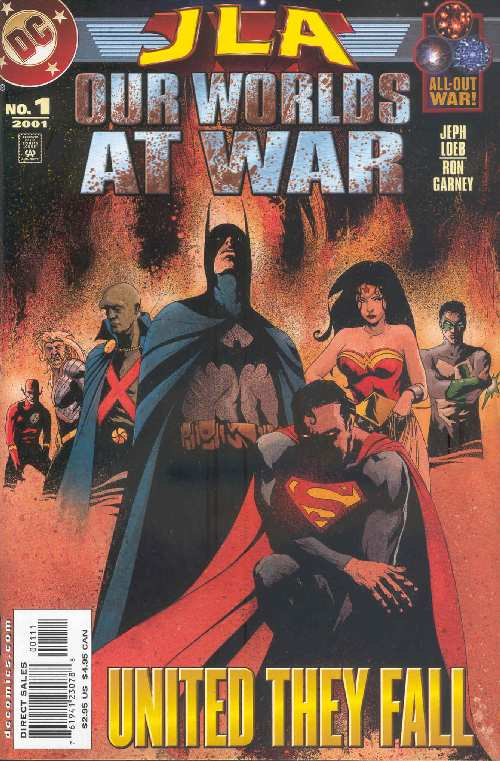 JLA OUR WORLDS AT WAR #1