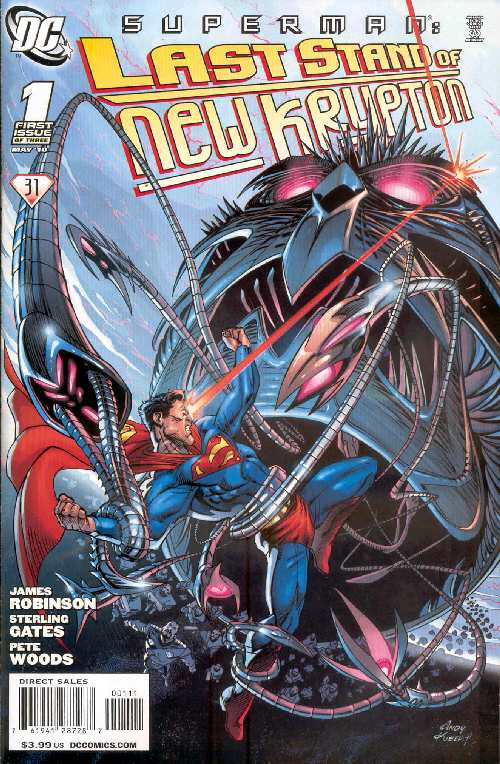SUPERMAN LAST STAND OF NREW KRYPTON #1
