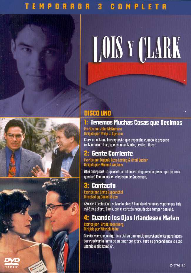 LOIS AND CLARK THE NEW ADVENTURES OF SUPERMAN THIRD SEASON
