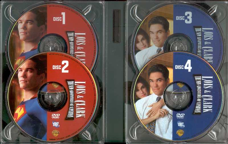 LOIS AND CLARK THE NEW ADVENTURES OF SUPERMAN FOURTH  SEASON
