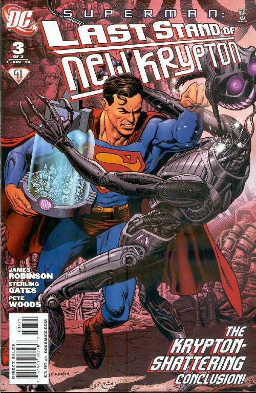 SUPERMAN: LAST STAND OF NEW KTYPRON #3