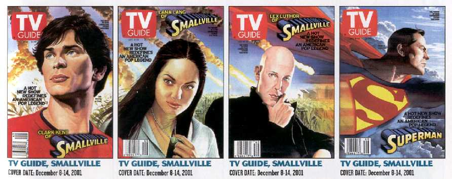 TV GUIDES BY ALEX ROSS. FROM WIZARD MILLENIUM EDITION