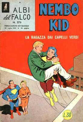 NEMBO KID / SUPERMAN EN ITALIA