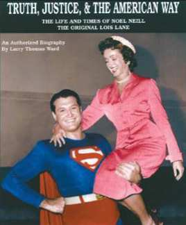 GEORGE REEVES Y NOEL NEILL COMO SUPERMAN Y LOIS LANE