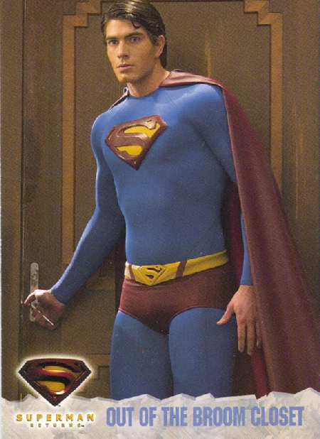SUPERMAN RETURNS TRADING CARD