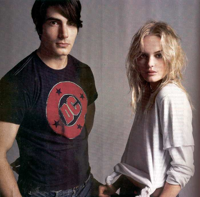 BRANDON ROUTH AND KATE BOSWORTH