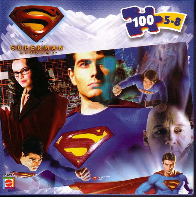 SUPERMAN RETURNS PUZZLE
