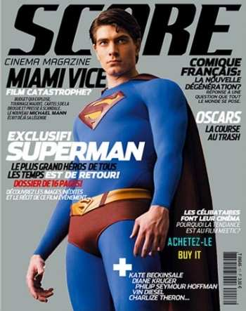 SUPERMAN RETURNS EN REVISTA FRANCESA SC0RE N.17