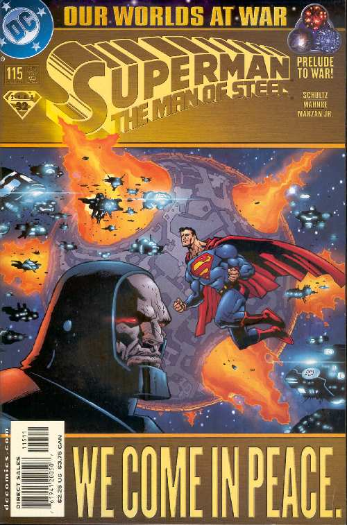 SUPERMAN MAN OF STEEL #115