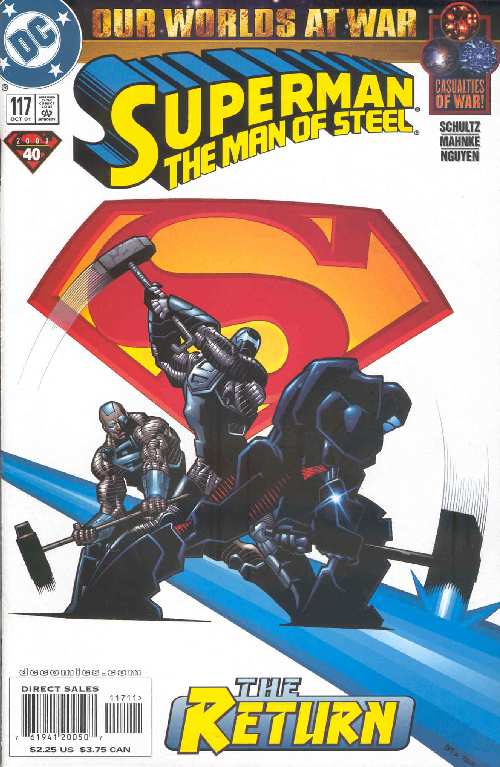 SUPERMAN THE MAN OF STEEL #117