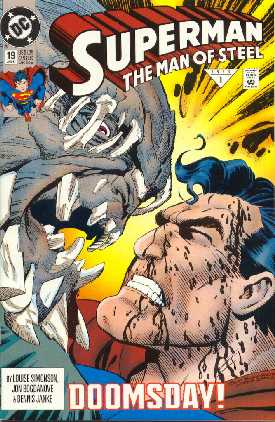 SUPERMAN MAN OF STEEL NO.19
