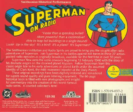 SUPERMAN EN LA RADIO