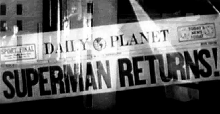 SUPERMAN RETURNS EN 1950