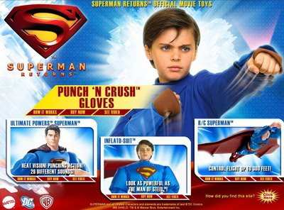 SUPERMAN RETURNS TOYS