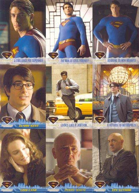 SUPERMAN RETURNS TRADING CARDS