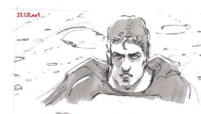 SUPERMAN RETURNS STORYBOARD