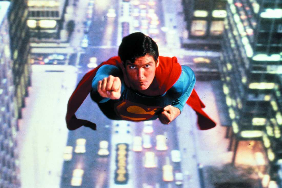 SUPERMAN BY CHRISTOPHER REEVE