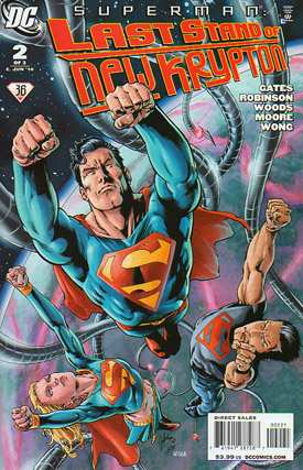 SUPERMAN LAST STAND OF NREW KRYPTON #2