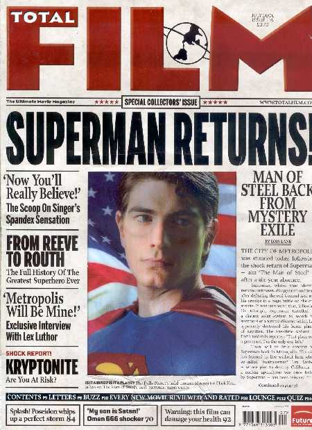 SUPERMAN RETURNS EN TOTAL FILM