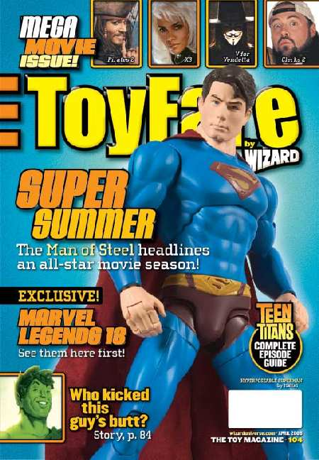 SUPERMAN RETURNS EN  LA REVISTA TUYFARE