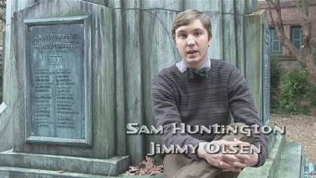 SAM HUNTINGTON AS JIMMY OLSEN