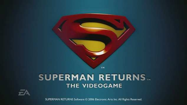SUPERMAN RETURNS VIDEO GAME