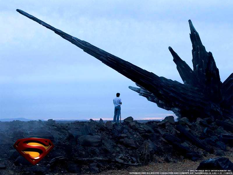 SUPERMAN RETURNS WALLPAPER