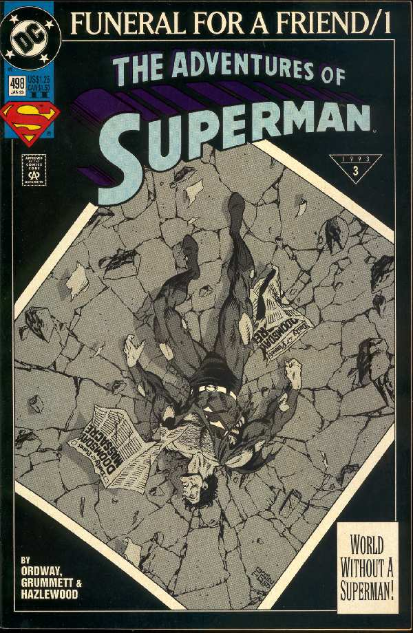 ADVENTURES OF SUPERMAN #498