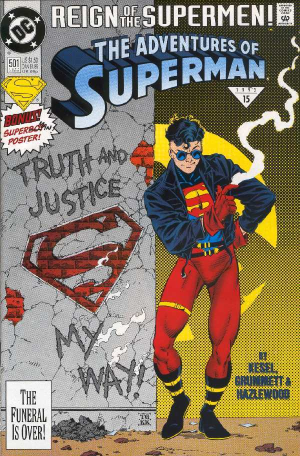 ADVENTURES OF SUPERMAN #500