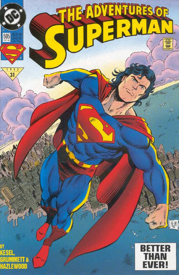 ADVENTURES OF SUPERMAN #505
