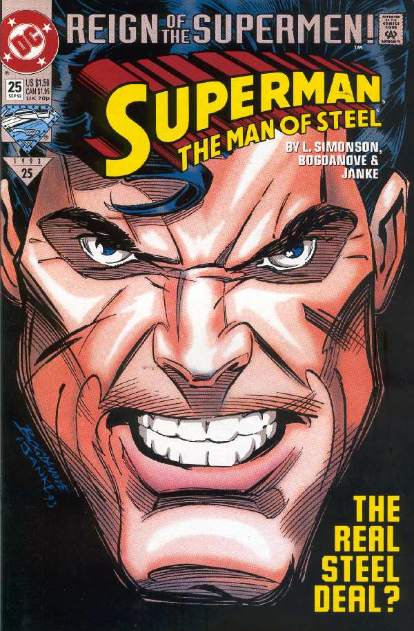 SUPERMAN THE MAN OF STEEL #25