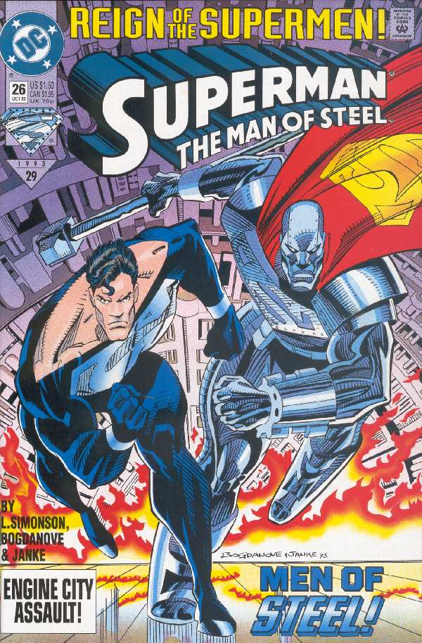 SUPERMAN THE MAN OF STEEL #26